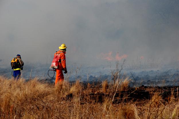 """Córdoba sube a nivel """"extremo"""" el riesgo de incendio en la provincia"""
