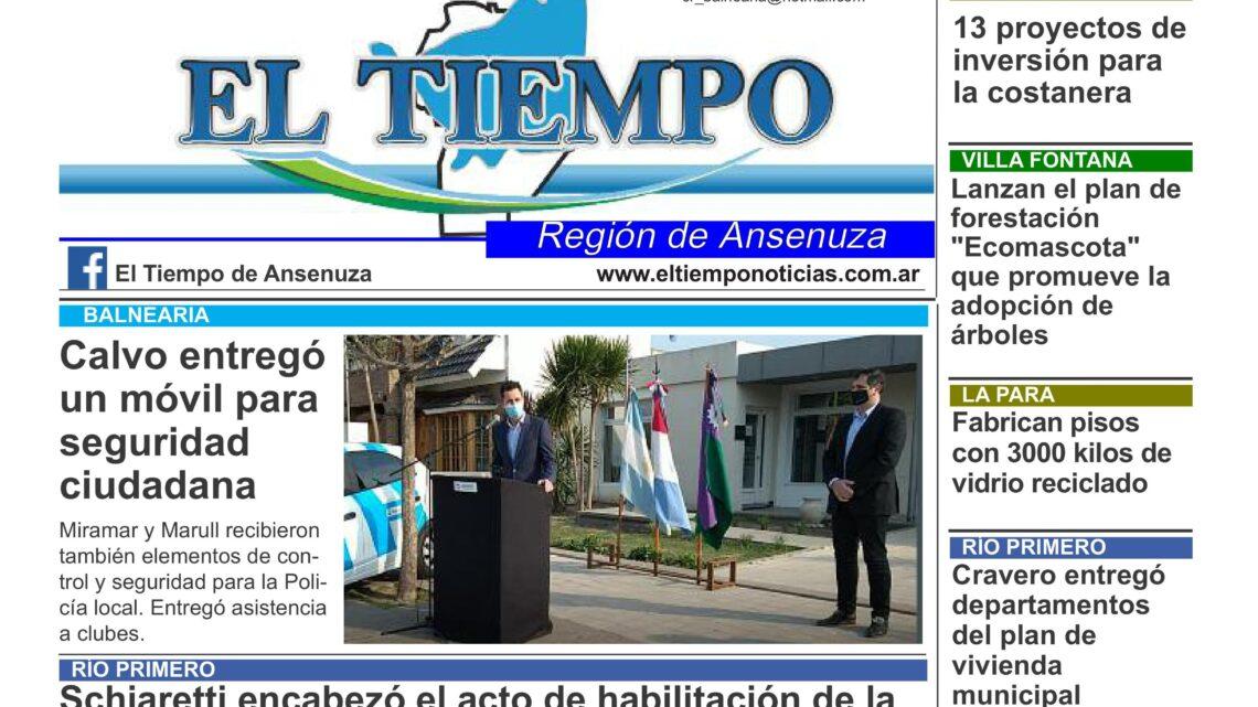 EL TIEMPO TE BRINDA EL RESUMEN SEMANAL DE NOTICIAS EN 28 PÁGINAS