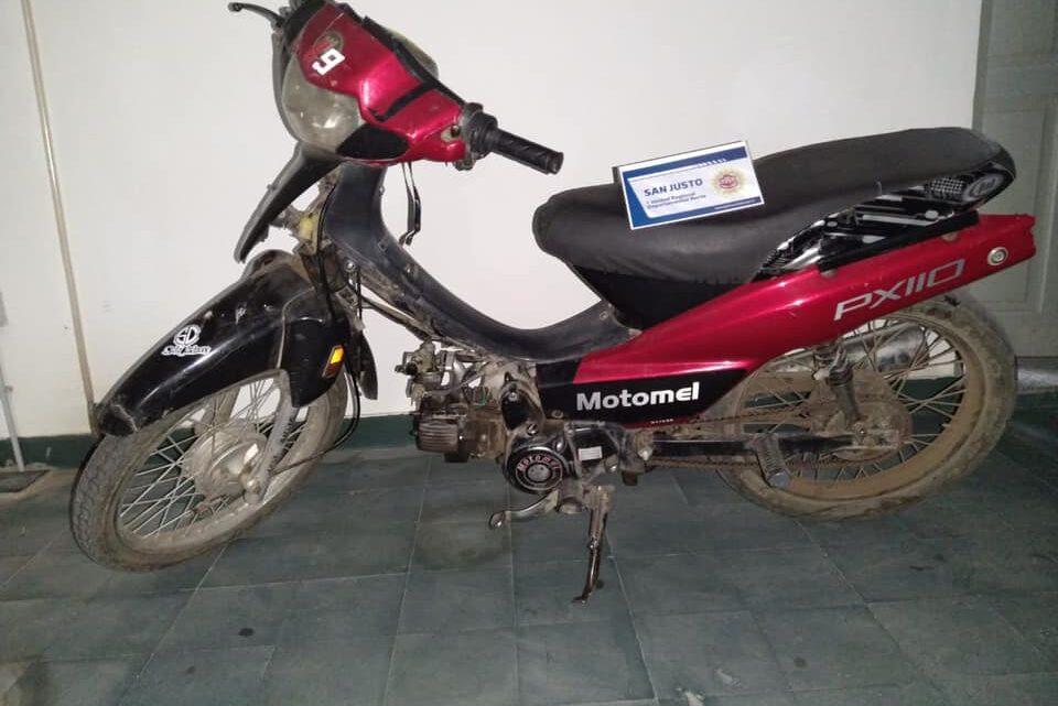 Brinkmann: Una mujer detenida por sustraer su propia moto