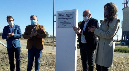 Schiaretti habilitó el Parque Industrial en La Paquita